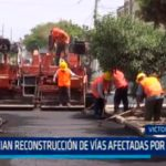 Inician reconstrucción de vías afectadas por Niño Costero