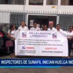 Inspectores de SUNAFIL inician huelga indefinida