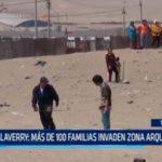 Salaverry: Más de 100 familias invaden zona arqueológica