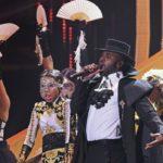 Festiva presentación de Jason Derulo y David Guetta en MTV EMA 2018
