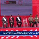 Lanzan la agenda bicentenario 2021