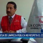 Trujillo: Empresa de Limpieza Pública no respeta el contrato