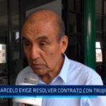 Marcelo exige resolver contrato con Trujillo Limpio