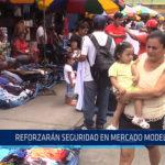 Chiclayo: Reforzaran seguridad en Mercado Modelo