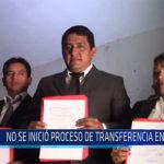 CHICLAYO: No se inició proceso de transferencia en JLO
