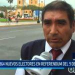 864 nuevos electores en referéndum del 9 de diciembre