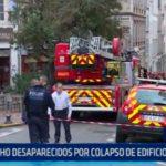 Francia: Ocho desparecidos por colapso de edificios en Marsella
