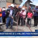 La Libertad: Invertirán más de s/.4 millones para pavimentar calles