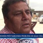 Chiclayo: Pedirán préstamo para problema de agua con arsénico