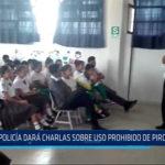 Chiclayo: Policía dará charlas sobre uso prohibido de pirotécnicos