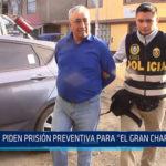 """Chiclayo: Piden prisión preventiva para el """"Gran Chaparral"""""""