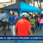 OMS: El objetivo es prevenir la diabetes en la familia