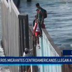 EE.UU: Primeros migrantes centroamericanos llegan a la frontera