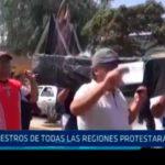 Maestros de todas las regiones protestarán en Lima