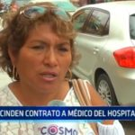 Rescinden contrato a médico del Hospital Belén