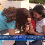 Chiclayo: Niños lambayecanos no han sido vacunados contra el sarampión