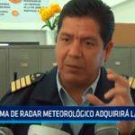 Sistema de radar meteorológico adquirirá la región