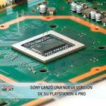 SONY lanzó una nueva versión de su playstation 4 pro