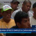 México: Tijuana ofrece empleo a caravana migrante