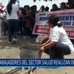 Chiclayo: Trabajadores del sector salud realizaron olla común