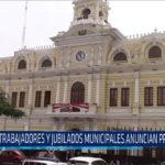 Chiclayo: Trabajadores y jubilados municipales anuncian protestas