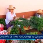 Usquil: Más de 12 mil pobladores no cuentan con agua