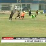 Sub 15: Universidad César Vallejo derrotó 4 – 1 a UTC