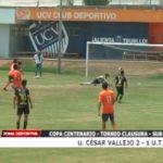 Copa Centenario: UCV venció 2 – 1 a UTC