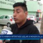 Sujeto habría intentado violar a menor en La Rinconada