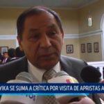Yika se suma a critica por visita de apristas a Uruguay
