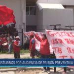 Chiclayo: Disturbios por audiencia de prisión preventiva de Oviedo