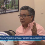 "Chiclayo: Nakasaki sobre Oviedo: ""Espero se acabe efecto contagio"""
