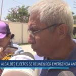 Chiclayo: Alcaldes electos se reúnen por emergencia ante lluvias