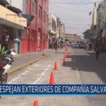 Chiclayo: Despejan exteriores de compañía salvadora 27