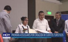 Chiclayo: Premian a escolares por creación de cuentos turísticos