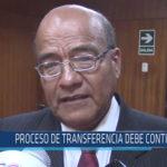Chiclayo: Proceso de transferencia debe continuar