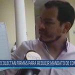 Chiclayo: Recolectan firmas para reducir mandato de congresistas