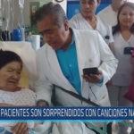 Chiclayo: Pacientes son sorprendidos con canciones navideñas