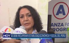 Chiclayo: Se debe recuperar estabilidad económica y social del Perú