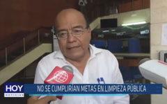 Chiclayo: No se cumplirían metas en limpieza pública