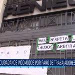Chiclayo: Ciudadanos incomodos por paro de trabajadores en Reniec