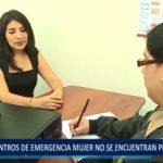 """Piura: """"Centros de emergencia mujer"""" no se encuentran preparados"""