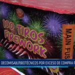 Chiclayo: Decomisan pirotécnicos por exceso de compra permitida