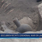 Chiclayo: Descubren recinto ceremonial Wari en Lambayeque