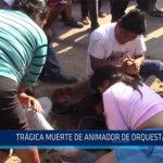Chiclayo: Trágica muerte de animador de orquesta