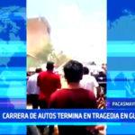 Pacasmayo: Carrera de autos termina en tragedia en Guadalupe