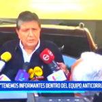 """AG acudió a votar: """"Tenemos informantes dentro del equipo anticorrupción"""""""