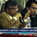 Chimbote: Desmiente a Briceño y amenaza con denunciarlo
