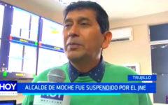 Trujillo: Alcalde de Moche fue suspendido por el JNE