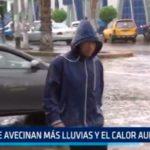 """""""Se avecinan más lluvias y el calor aumentará"""""""